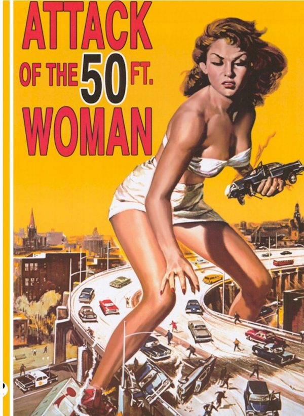 ATTACK OF50FT WOMAN front