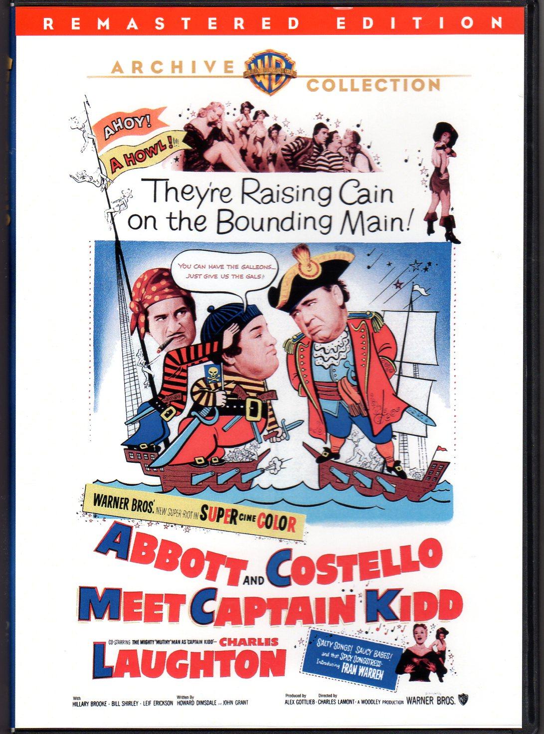 Abbott And Costello Meet Captain Kidd 1952
